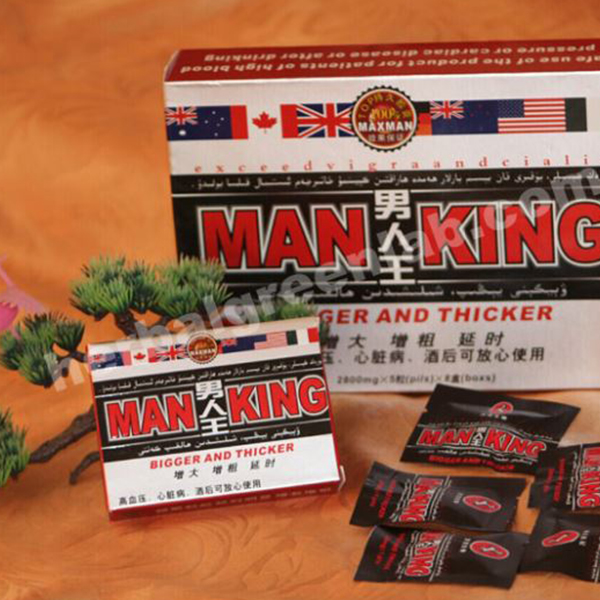 Man King Exceed Vigra And Cialis Sexual Enhancement